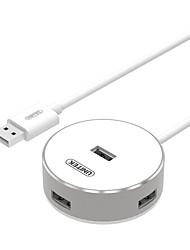 Недорогие -4 USB-концентратор USB 2.0 USB 2.0 С проволочной обвязкой Центр данных
