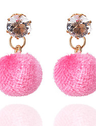 cheap -Women's Drop Earrings - Basic Hot Pink / Red / Blue Earrings For Party / Daily / Casual
