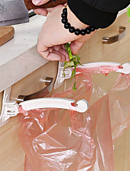 cheap -2PCS Kitchen Multi-function Door Hanging Garbage Bag Bracket