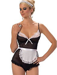 Women's Erotic Maid Costume Sexy Lingerie PartyWear