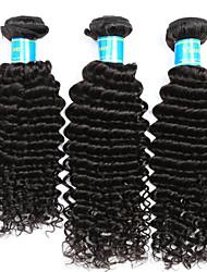 Indian Deep Wave 3 Bundles Hair Weaves Unprocessed Virgin Human Hair Extensions Natural Human Hair Weave Vinsteen Hair Weft Extensions