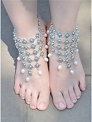 cheap -Women's Anklet/Bracelet Imitation Pearl Alloy Fashion Vintage Drop Jewelry For Daily Casual 1 pcs