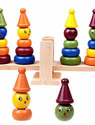 cheap -Building Blocks Toys Large Size Wood Children's Pieces