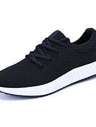 Недорогие -Муж. обувь Тюль Полиуретан Лето Простой На каждый день Мода Спортивная обувь Беговая обувь Шнуровка для Повседневные На каждый день На