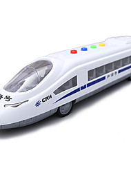cheap -LED Lighting Dollhouse Accessory Train Pull Back Vehicles Music & Light Children's