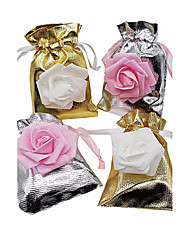 cheap -20pcs Sliver And Golden Flower Gift Bags Candy Bags Wedding Cand Box