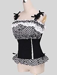 cheap -Sweet Lolita Dress Princess Women's Teen Girls' Blouse/Shirt Cosplay Sleeveless