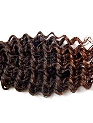 baratos -Cabelo para Trançar Encaracolado / Crochê / Onda Profunda Tranças Encaracoladas / Extensões de Cabelo Natural 100% cabelo kanekalon Tranças de cabelo Diário