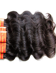 cheap -Malaysian Virgin Hair Body Wave 300Grams 6Bundles Lot For one Head 7A Grade Quality 100% Human Hair Machine Made Weaves Natural Black Color