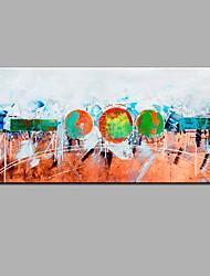 economico -Dipinta a mano Astratto Orizzontale,Moderno Un Pannello Hang-Dipinto ad olio For Decorazioni per la casa