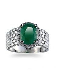 preiswerte -Herrn Synthetischer Smaragd Smaragdfarben Ring - Anderen Einzigartiges Design Euramerican Modisch Für Hochzeit Besondere Anlässe Jahrestag