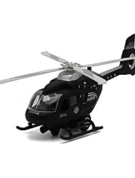 Недорогие -Наборы для моделирования Вертолет Летательный аппарат Eagle Вертолет моделирование Универсальные Игрушки Подарок / Металл