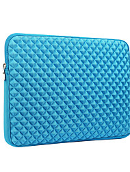 cheap -For MacBook Pro Air 11 13 15 Inch Sleeves Polyester  Simple Portable Notebook Bag Grid Pattern Laptop Sleeves 15