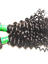 8a индийский глубокий волна волос vigin 3bundles 300g много необработанных индийских человеческих волос удлиняет тканью естественный