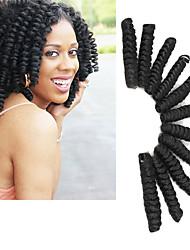 Tresses bouclés Brillant & Séduisant Mariage Européen Style européen 100% cheveux kanekalon KanekalonNoir Gris Blond de fraise Auburn