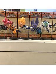 Figures Animé Action Inspiré par Dragon Ball Goku PVC 8 CM Jouets modèle Jouets DIY