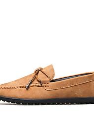 Homme Chaussures Daim Eté Automne Moccasin Mocassins et Chaussons+D6148 Pour Mariage Décontracté Soirée & Evénement Gris Bleu marine Kaki