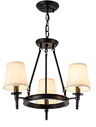 LightMyself Chandelier and Flush Mounted Fixture 3 Lights One Light Two Style Modern/Contemporary Traditional/Classic Rustic Painting