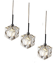 cheap -3pcs/lot Led Pendant Light  Modern/Contemporary Led G4 Bulb Included/ Dinning Room Coffee Bar Office Light