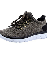 Women's Sneakers Comfort Tulle Summer Fall Outdoor Office & Career Casual Flat Heel Screen Color Khaki Gray Black Flat