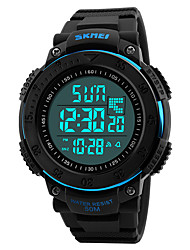 cheap -SKMEI® 1237  Men's Woman Watch Outdoor Sports Multi - Function Watch Waterproof Sports Electronic Watches 50 Meters Waterproof