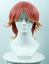 cheap -Costume Wigs / Synthetic Wig Straight Women's Capless Cosplay Wig Short Synthetic Hair