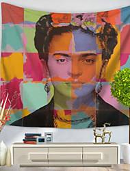 Недорогие -Декор стены 100% полиэстер Ретро Предметы искусства,1