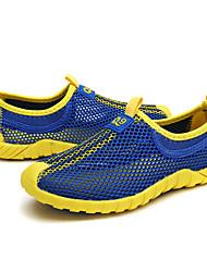 Para Meninos Tênis Tule Verão Corrida Combinação Rasteiro Laranja Verde Azul 5 a 7 cm