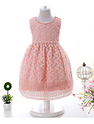 Baby Print Jacquard DressCotton Flower Summer