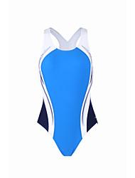 baratos -Mulheres roupa de banho Resistente ao cloro, Respirável 100% Poliéster Sem Manga Roupa de Banho Roupa de Praia Body Retalhos Surfe / Praia / Com Stretch