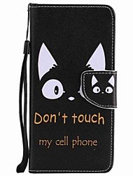 cheap -Case For Motorola Card Holder Wallet with Stand Flip Pattern Full Body Cases Cat Hard PU Leather for Moto G5 Plus Moto G5