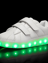 Da ragazzo Sneakers Scarpe luminose TPU Estate Autunno Casual Scarpe luminose LED Basso Bianco Nero Viola chiaro Meno di 2,5 cm