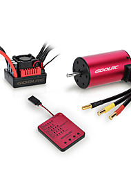 cheap -Original GoolRC S3650 4300KV Sensorless Brushless Motor 60A Brushless ESC And Program Card Combo Set for 1/10 RC Car Truck