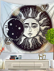 Wall Decor 100% Polyester Retro Wall Art,Wall Tapestries of 1