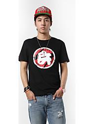 Herren Spezial Design Wort/Satz Einfach Punk & Gothic Chinoiserie Lässig/Alltäglich Athlässigkeit T-shirt,Rundhalsausschnitt Sommer