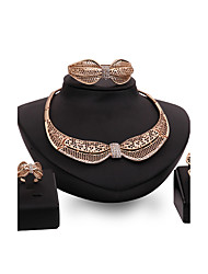 cheap -Latest Ladies Fashion Euramerican Exaggeration Jewelry Set / Necklace / Ring / Earrings / Bracelet