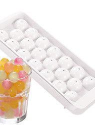 20 Grid Whiskey Dia 2cm Ice Ball Mold Cube Maker Hockey Tray Sphere Mould Party Brick Round Bar