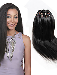 cheap -Yaki Straight Crochet Pre-loop Black Purple Crochet Braids Hair Extensions Kanekalon Hair Braids