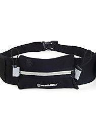L Waist Bag/Waistpack Belt Pouch/Belt Bag for Sports Bag Reflective Strip Waterproof Quick Dry Running Bag Samsung Galaxy S4 Iphone 4/4S