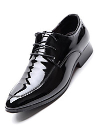 cheap -Men's Shoes Microfibre Spring Fall Formal Shoes Fashion Boots Oxfords Walking Shoes Rivet Split Joint for Wedding Office & Career Party &