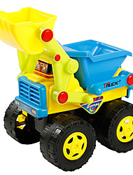 cheap -Construction Truck Set Dozer Wheel Loader Toy Truck Construction Vehicle Toy Car Pull Back Vehicles Large Size Plastics Kid's Toy Gift