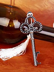 Недорогие -хром скелет пивная бутылка открывалка beter gifts® свадебные принадлежности