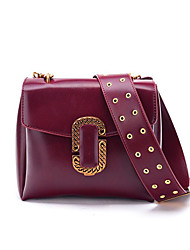 cheap -Women Bags PU Shoulder Bag Metallic Buckle for Christmas Birthday Event/Party Casual Formal Office & Career Date Party & Evening Work Club