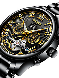 cheap -Men's Automatic self-winding Mechanical Watch Wrist Watch Military Watch Skeleton Watch Sport Watch Japanese Calendar / date / day Water