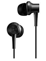 cheap -Xiaomi In Ear Wired Headphones Plastic Mobile Phone Earphone with Volume Control / with Microphone / Noise-isolating Headset
