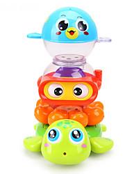 abordables -Juguete de Agua Juguete de Baño Juguetes Plásticos Piezas Niños Regalo