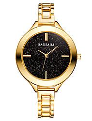 Mulheres Relógio Elegante Relógio de Moda Japanês Quartzo Japonês Lega Banda Casual Prata Dourada Ouro Rose