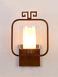 Ac 12 cc 12 12 led intégré moderne / contemporain moderne / peinture contemporaine caractéristique pour ampoule incluse, mur d'éclairage