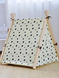 Dog Bed Pet Mats & Pads Stars Portable Tent