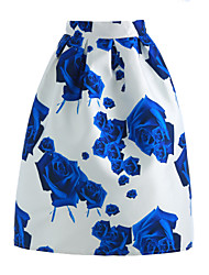 cheap -Women's Cute A Line Skirts Print